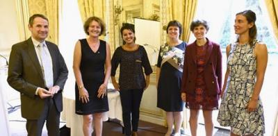Nathalie Carrasco, prix Irène Joliot-Curie 2016