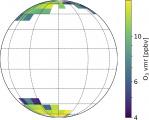 Découverte d'ozone au sommet des nuages de Vénus