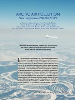 Résultats de POLARCAT sur la pollution atmosphérique en Arctique (2)