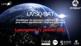 MISSION UVSQ-SAT :  Confirmation du lancement le 21 janvier à 15h24